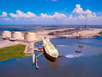 Camron LNG terminal in Louisiana