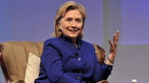 Hillary Clinton covered a range of topics at BIO International Convention. Photo by Chris Stone