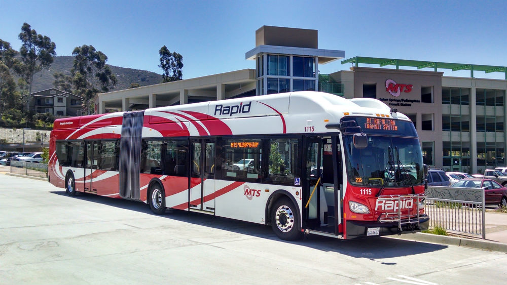 Free Rides Help Launch Rapid MTS Bus Service on I15