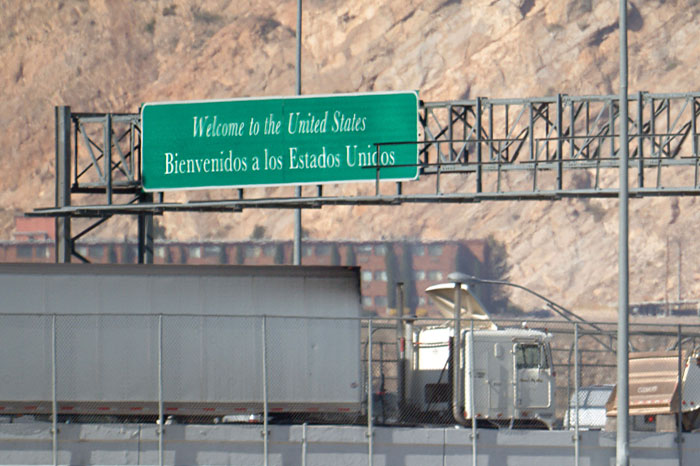 Otay Mesa border crossing