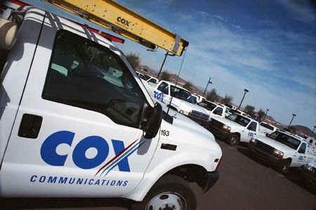 Cox Communications truck