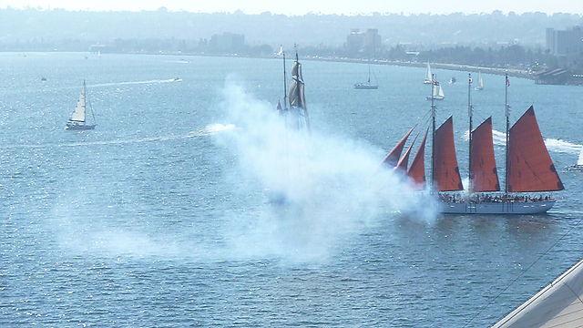American Pride vs. The Californian, Festival of Sail