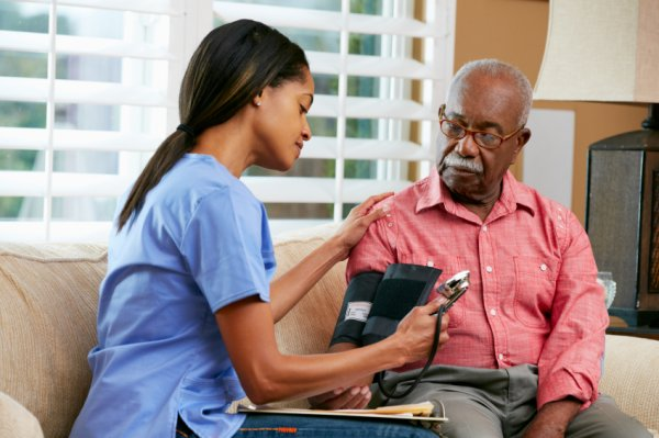 Caretakers elderly