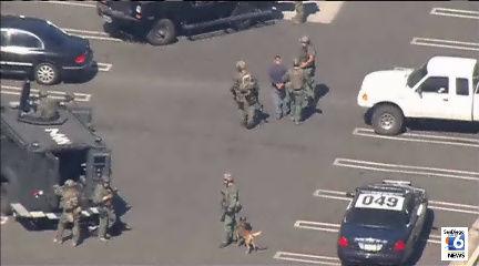 SWAT Standoff Escondido