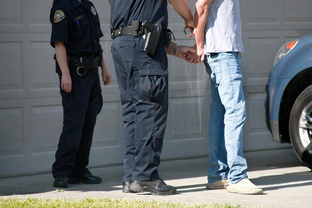 Insurance fraud arrest