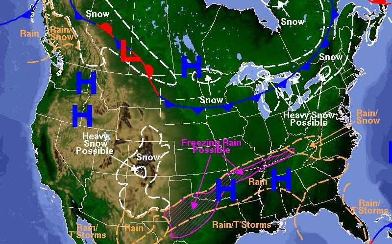 noaa weather map 1-1-15