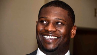 LaDainian Tomlinson was inducted into the Breitbard Hall of Fame.
