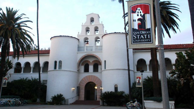 Hepner Hall at San Diego State Universty
