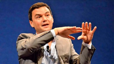 """Thomas Piketty said data from 40 developed and emerging nations informed his book """"Capital in the Twenty-First Century."""" Photo by Ken Stone"""