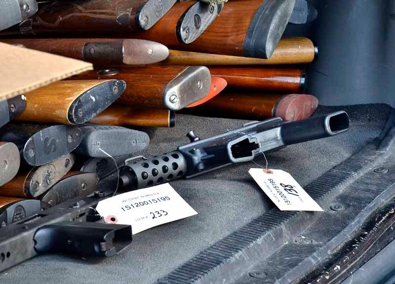 Gun buyback event