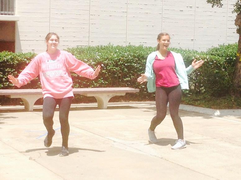 "The ""Watermelon Royalty"" hip hop jazz dance routine. Photo Credit: Cassia Pollock"