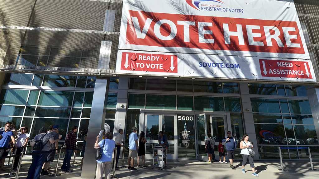 Weekend balloting