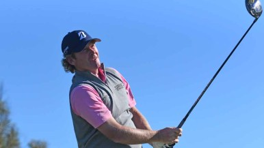 Brandt Snedeker shot on the south course during the Zurich Pro-Am in the Farmers Open. Photo by Chris Stone