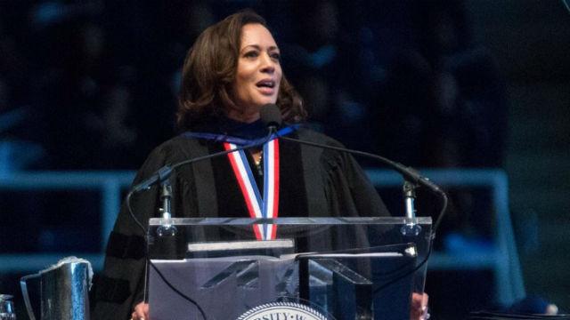 Kamala Harris speaks at Howard University