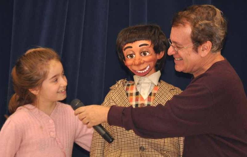 Ventriloquist Joe Gandelman