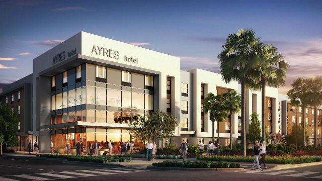 Rendering of Ayres Hotel