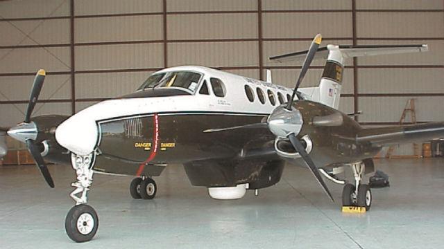 General Atomics King Air plane