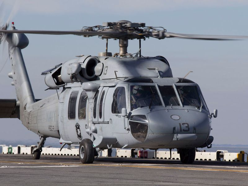 MH-60S helicopter