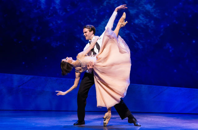 "McGee Maddox and Sara Esty dance in ""An American in Paris"""