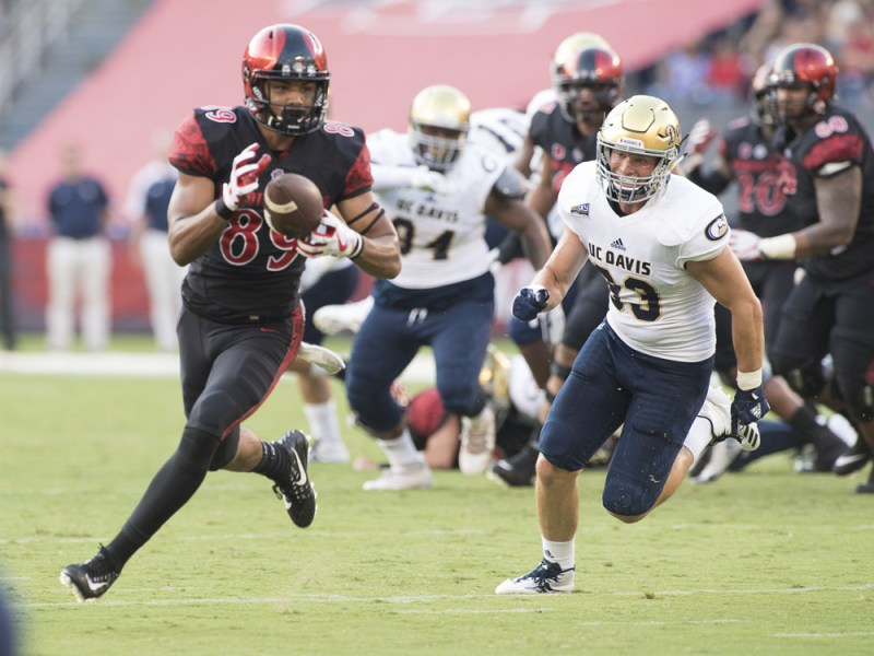 College football: UC Davis vs San Diego State