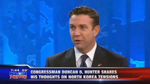 Rep. Duncan Hunter on KUSI