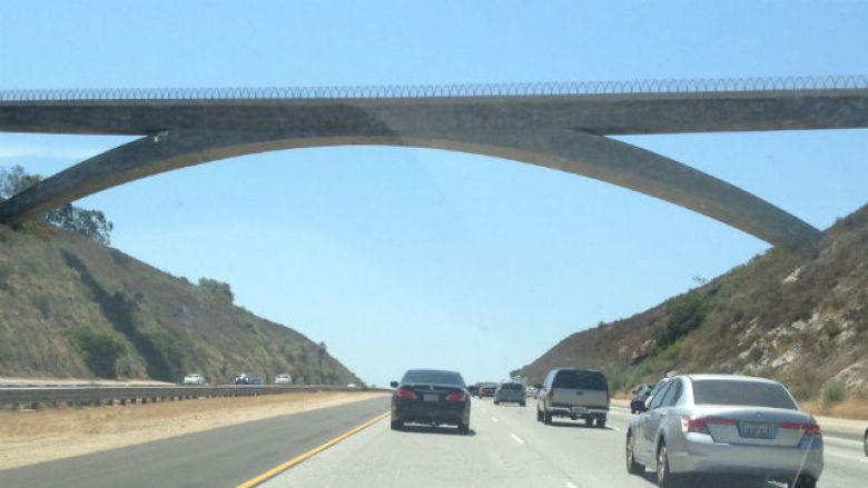 Lilac Road Bridge over Interstate 15