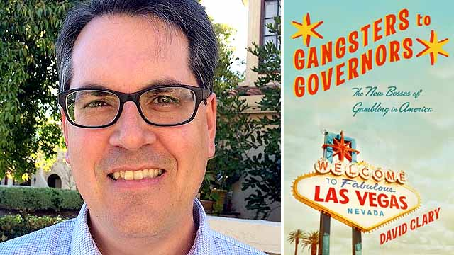 """David Clary likens writing """"Gangsters to Governors"""" to running a marathon 10 years after a 5K."""