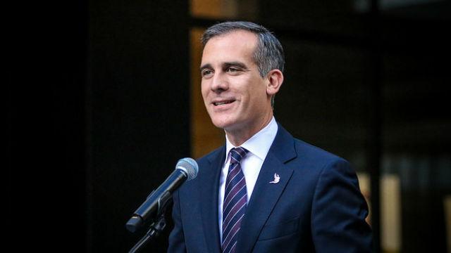 Los Angeles Mayor Eric Garcetti