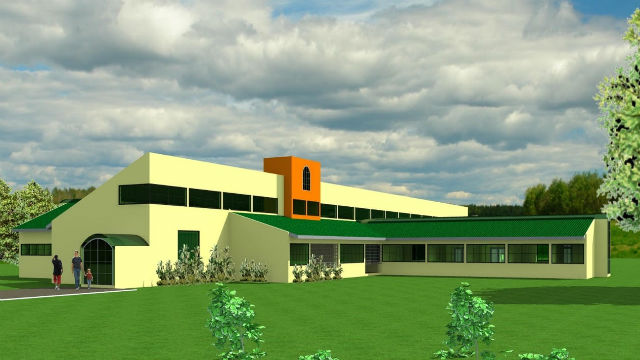 Rendering of Teresa Ayiko Memorial Hospital
