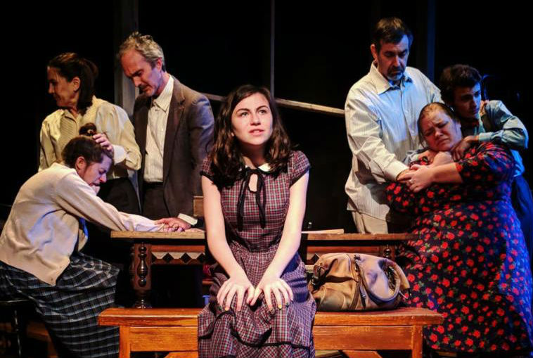 """Scene from """"The Diary of Anne Frank"""""""