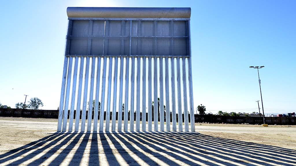 This wall was built by KWR Construction, Inc. of Sierra Vista, Arizona