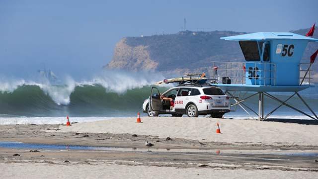 Coronado lifeguards.
