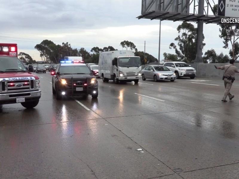 crash 805 Freeway