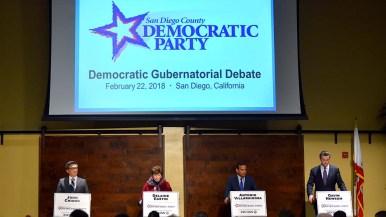 A gubernatorial candidates debate was held in east San Diego.