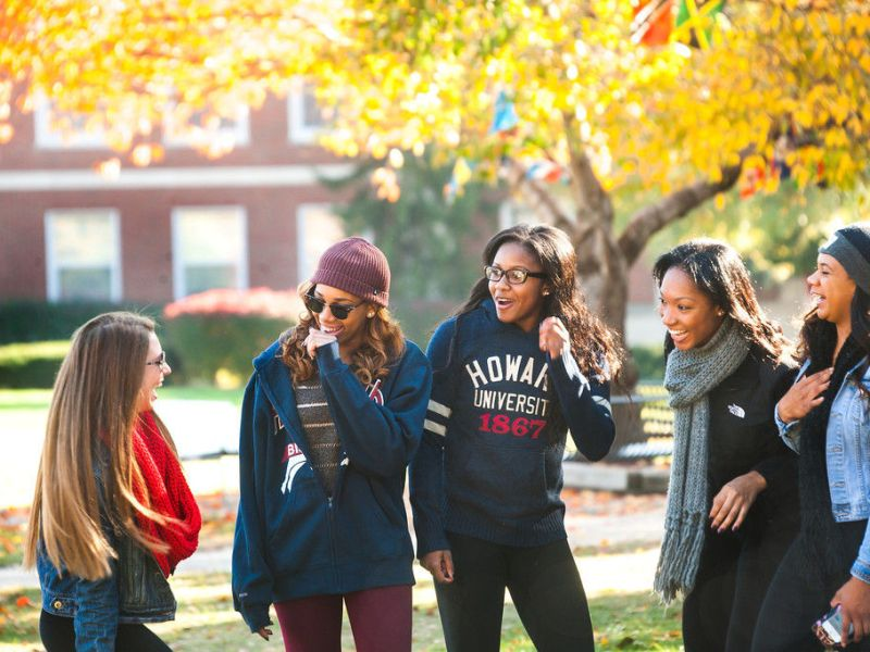 Howard University students