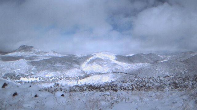 Snow near Julian