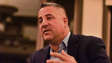 Tony Manolatos said he has to warm up his clients to get them to deal with local news media.