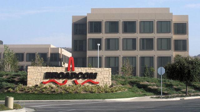 Broadcom building in Irvine