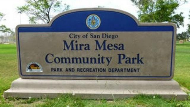 Mira Mesa Community Park sign