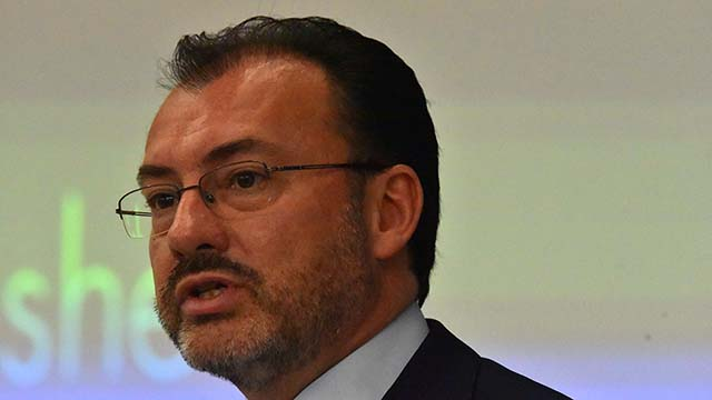 Mexican Secretary of Foreign Affairs Luis Videgaray said 5.6 million American jobs depend on NAFTA.