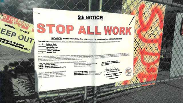 """City of Walnut """"stop-work"""" orders at Hilmer Lodge Stadium project were posted Feb. 22 and taken down shortly after, say court filings."""