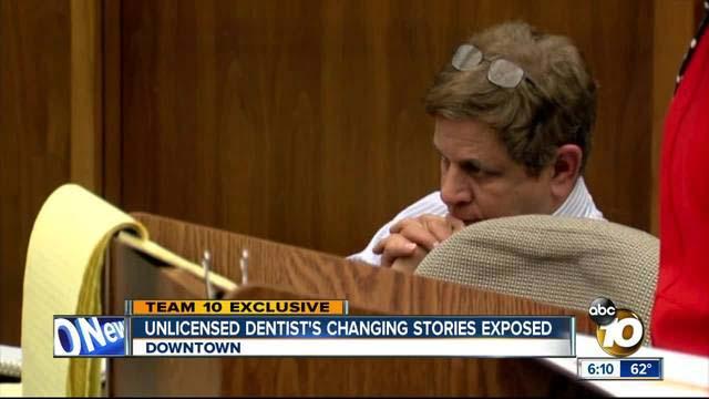 Robert Mansueto at earlier court hearing.