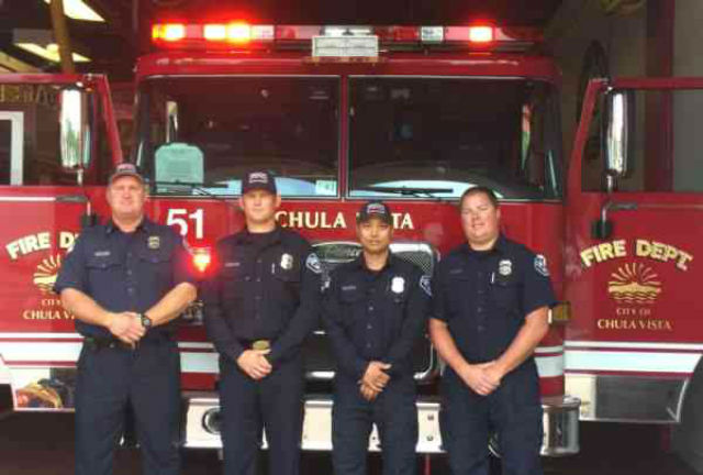 Chula Vista firefighters