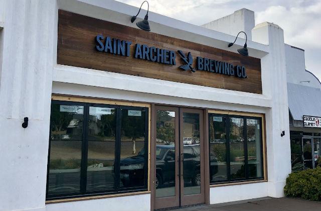 Saint Archer tasting room
