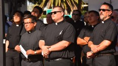 Jesuit priests from ten western states came to San Diego for annual ordination events.