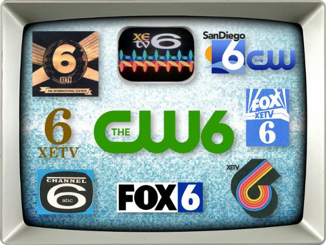 Channel 6 logos
