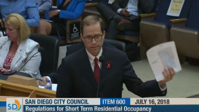 Matt Valenti at City Council