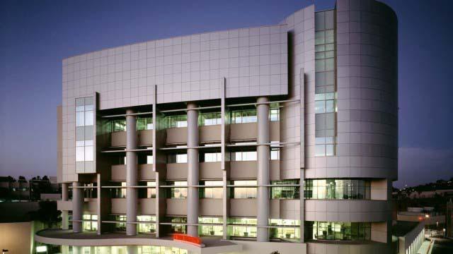 Sharp Grossmont Hospital in La Mesa.