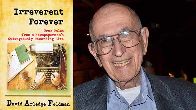 """David Feldman, author of """"Irreverent Forever,"""" is a former San Diego Union-Tribune copy editor and San Diego State journalism forever."""
