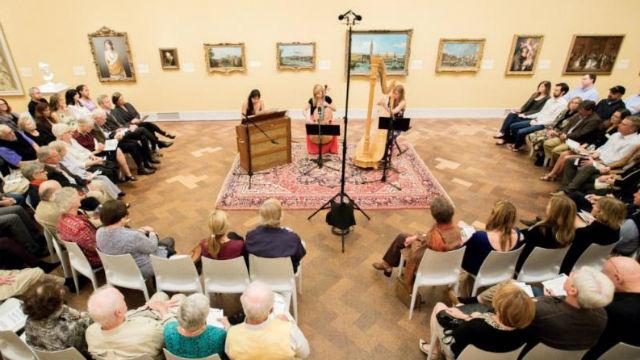 Art of Élan museum concert